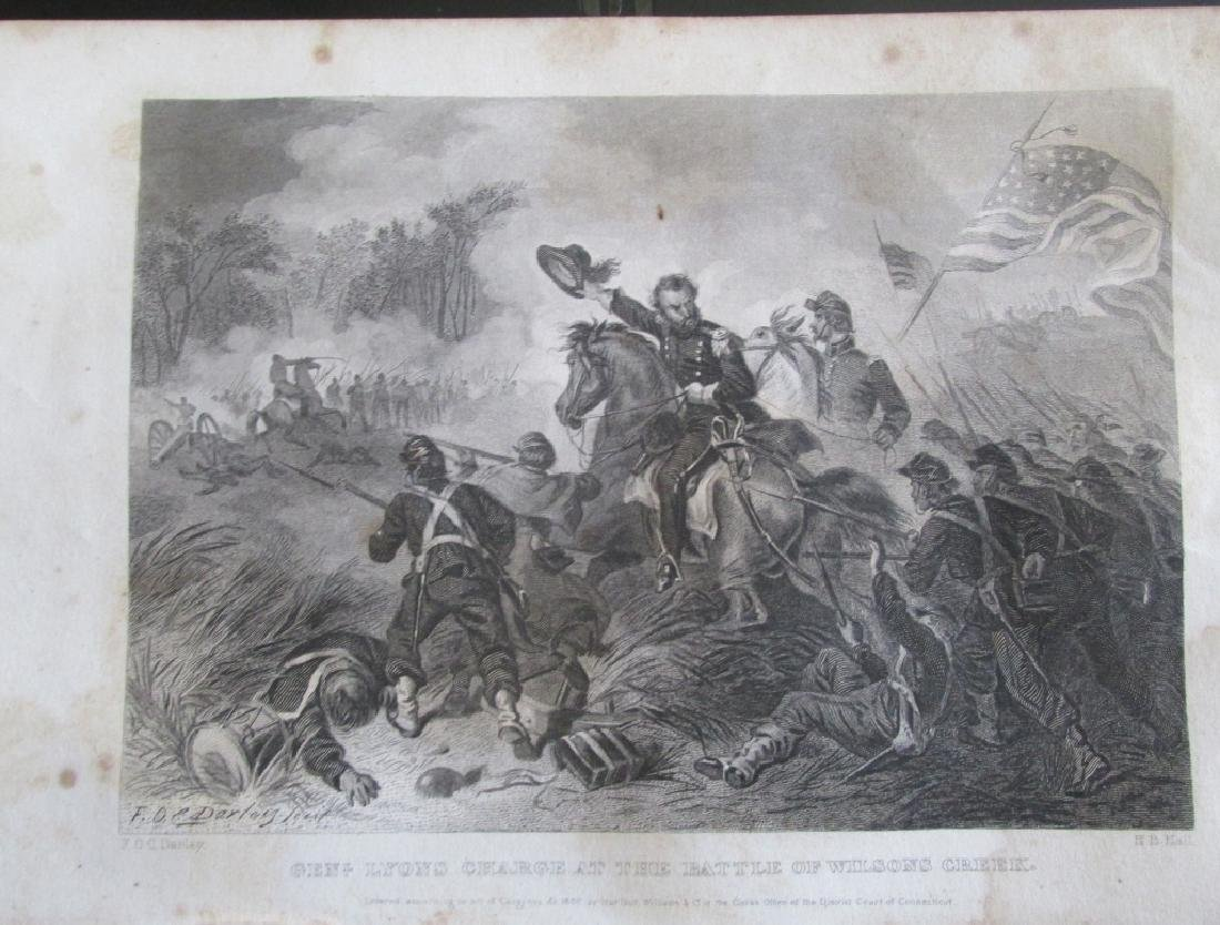 General Lyons Charge at Wilsons Creek  [Civil War]