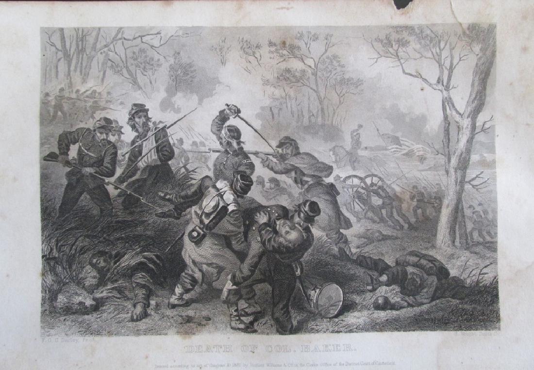Death of Colonel Baker [Civil War]