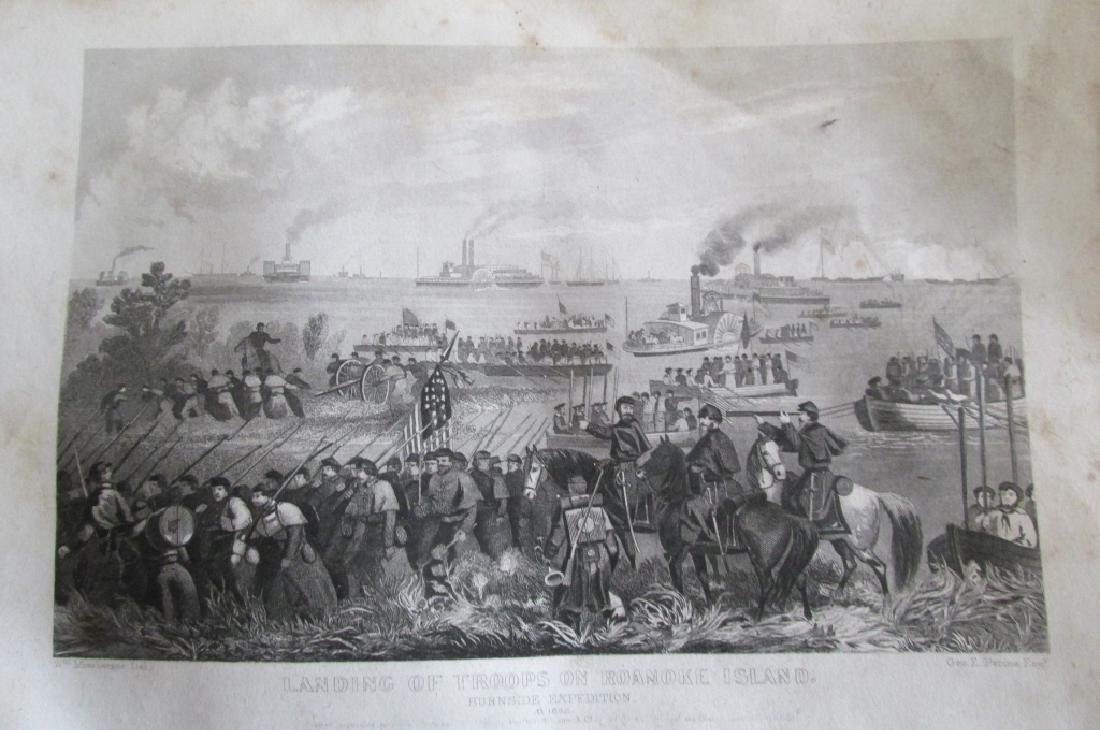 Landing Troops Roanoke Island [Civil War]