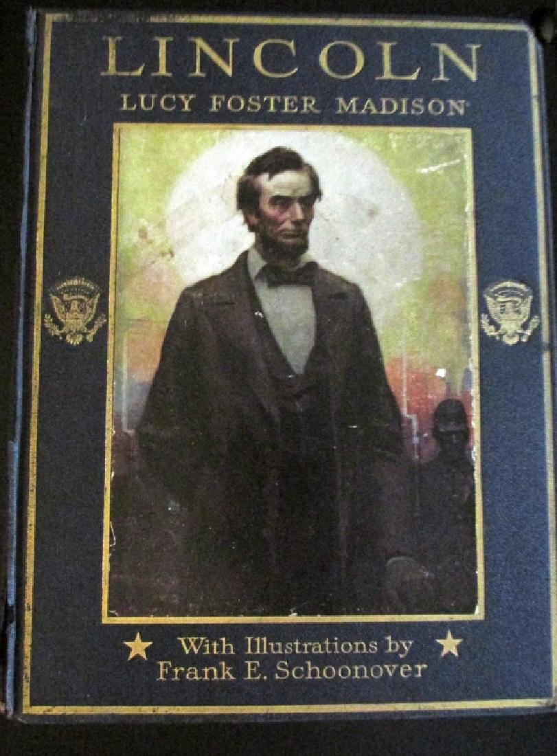 Abraham Lincoln  Illustrations Frank E. Schoonover