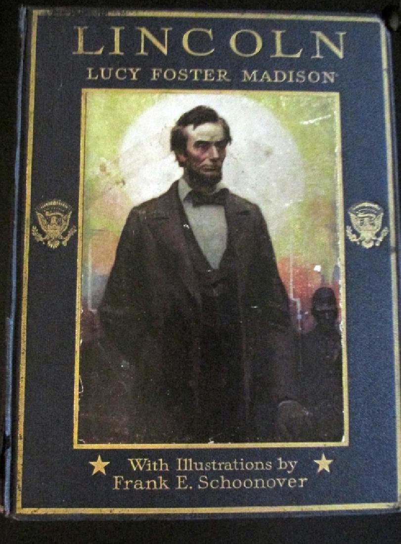 Abraham Lincoln  Illustrations Frank E. Schoonover