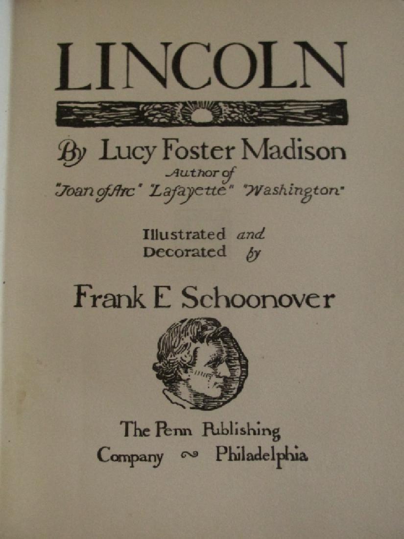 Abraham Lincoln  Illustrations Frank E. Schoonover - 2
