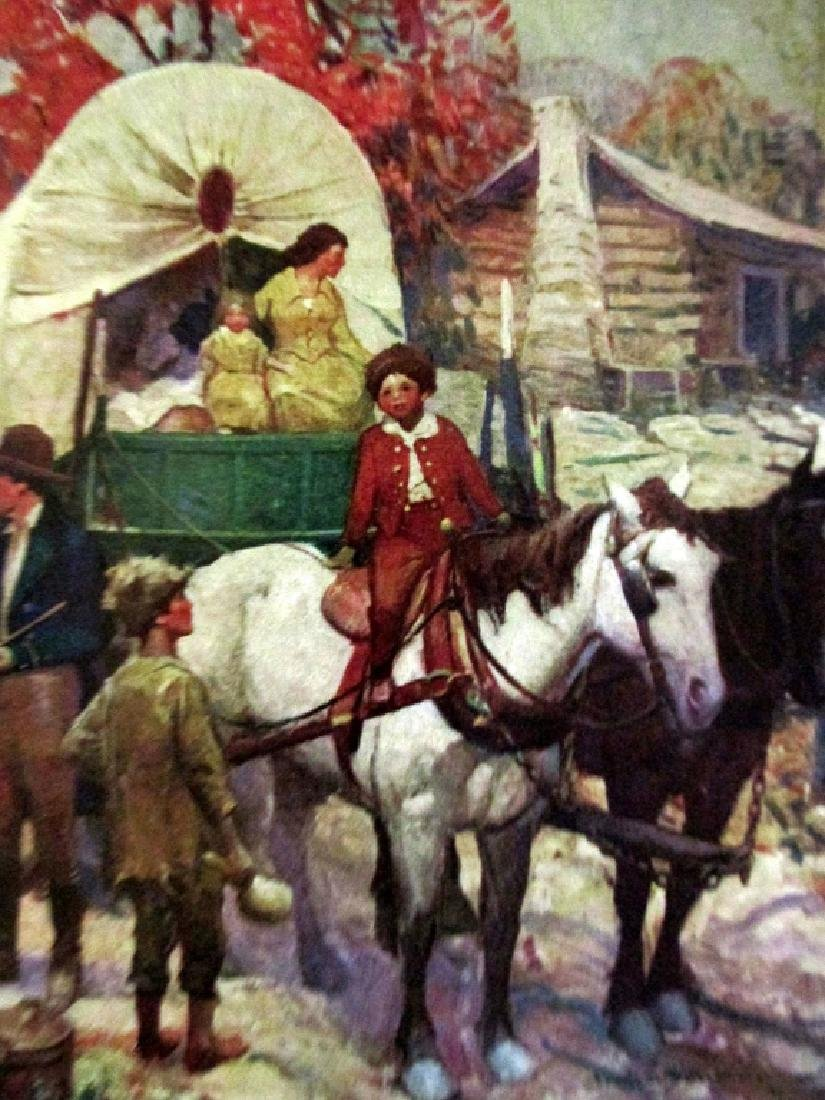 Abraham Lincoln  Illustrations Frank E. Schoonover - 3