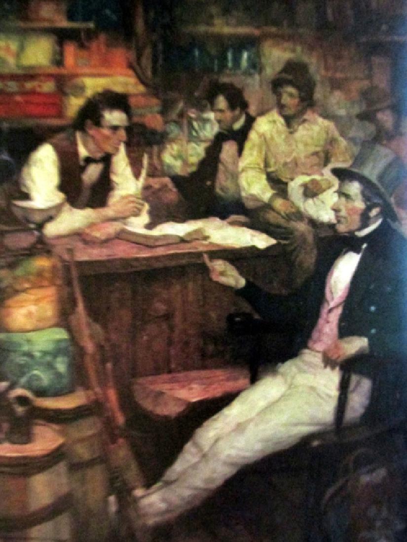 Abraham Lincoln  Illustrations Frank E. Schoonover - 6