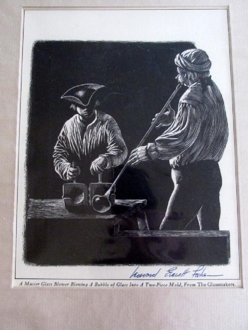 Leonard Everett Fisher (1924 - ) The Glass Blowers