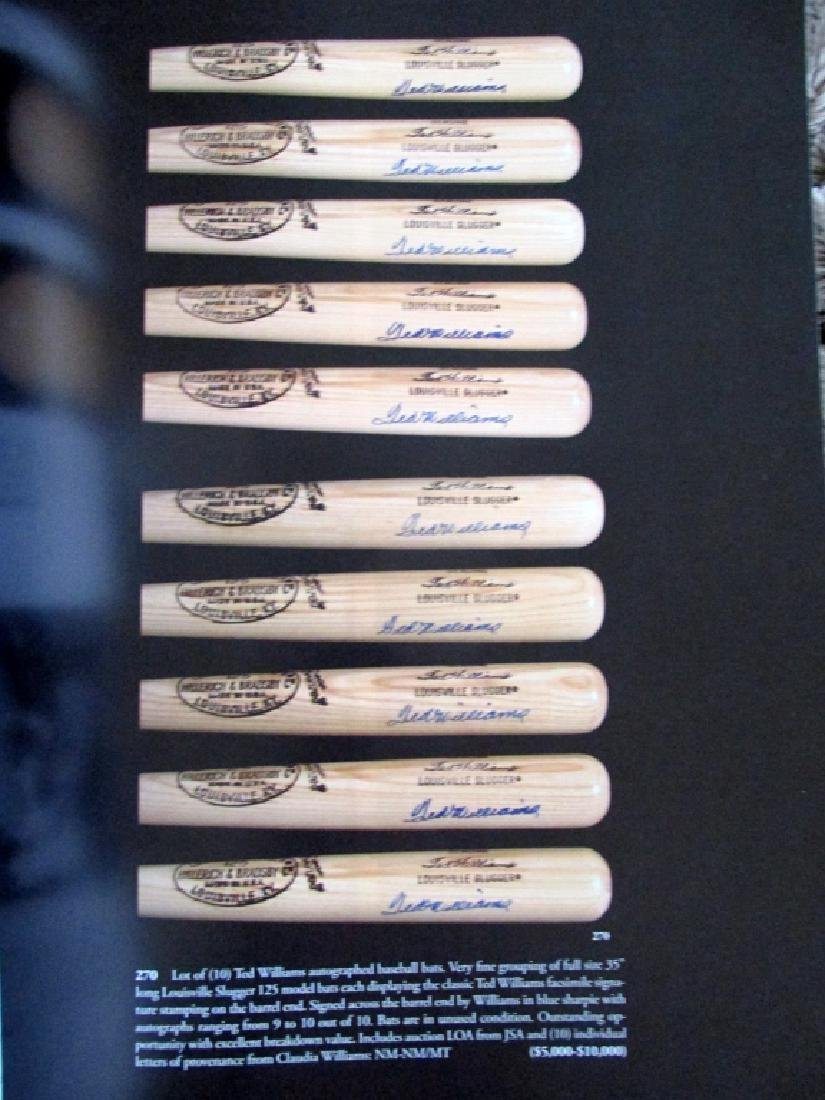 The Ted Williams Collection at Public Auction - 4