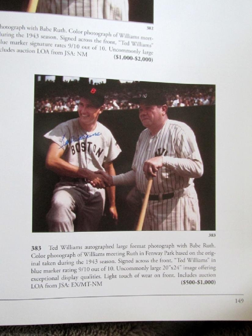 The Ted Williams Collection at Public Auction - 7