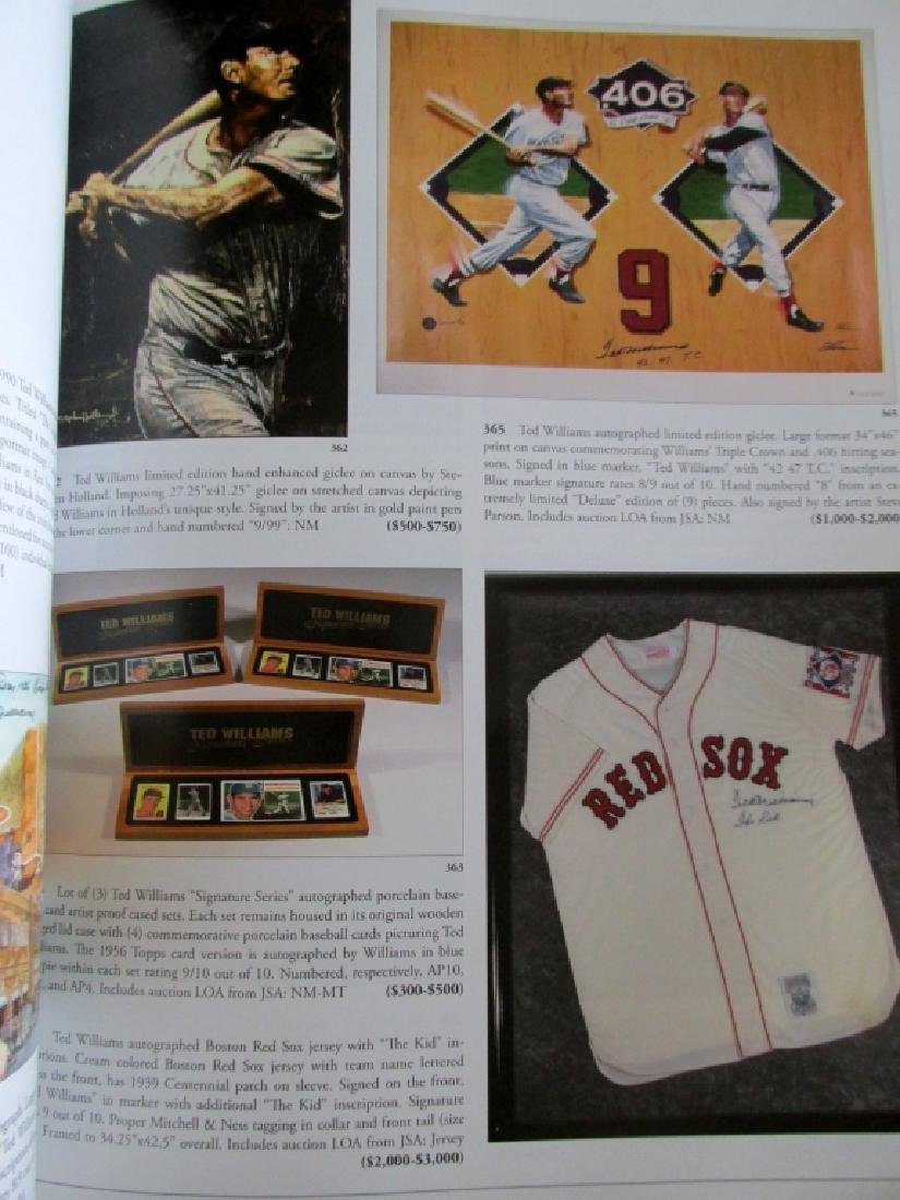 The Ted Williams Collection at Public Auction - 8
