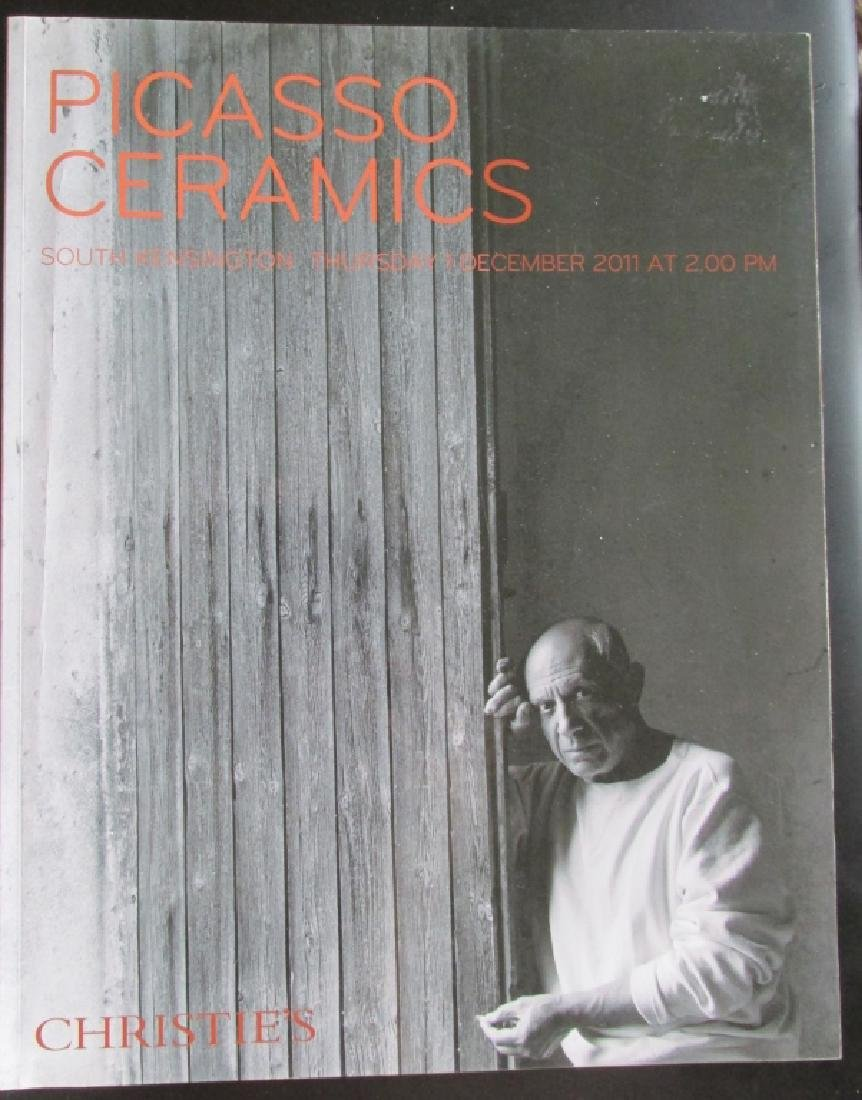 Picasso Ceramics - Christies 2011