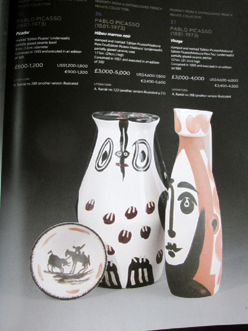 Picasso Ceramics - Christies 2011 - 3