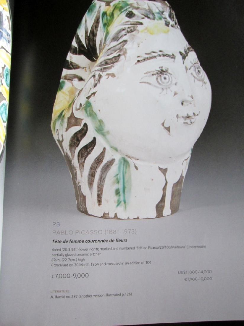 Picasso Ceramics - Christies 2011 - 4