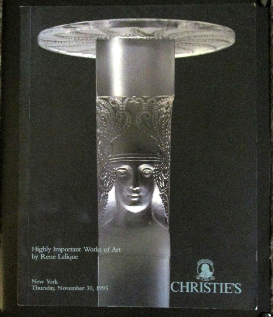 Important Works of Art by Rene Lalique Christies