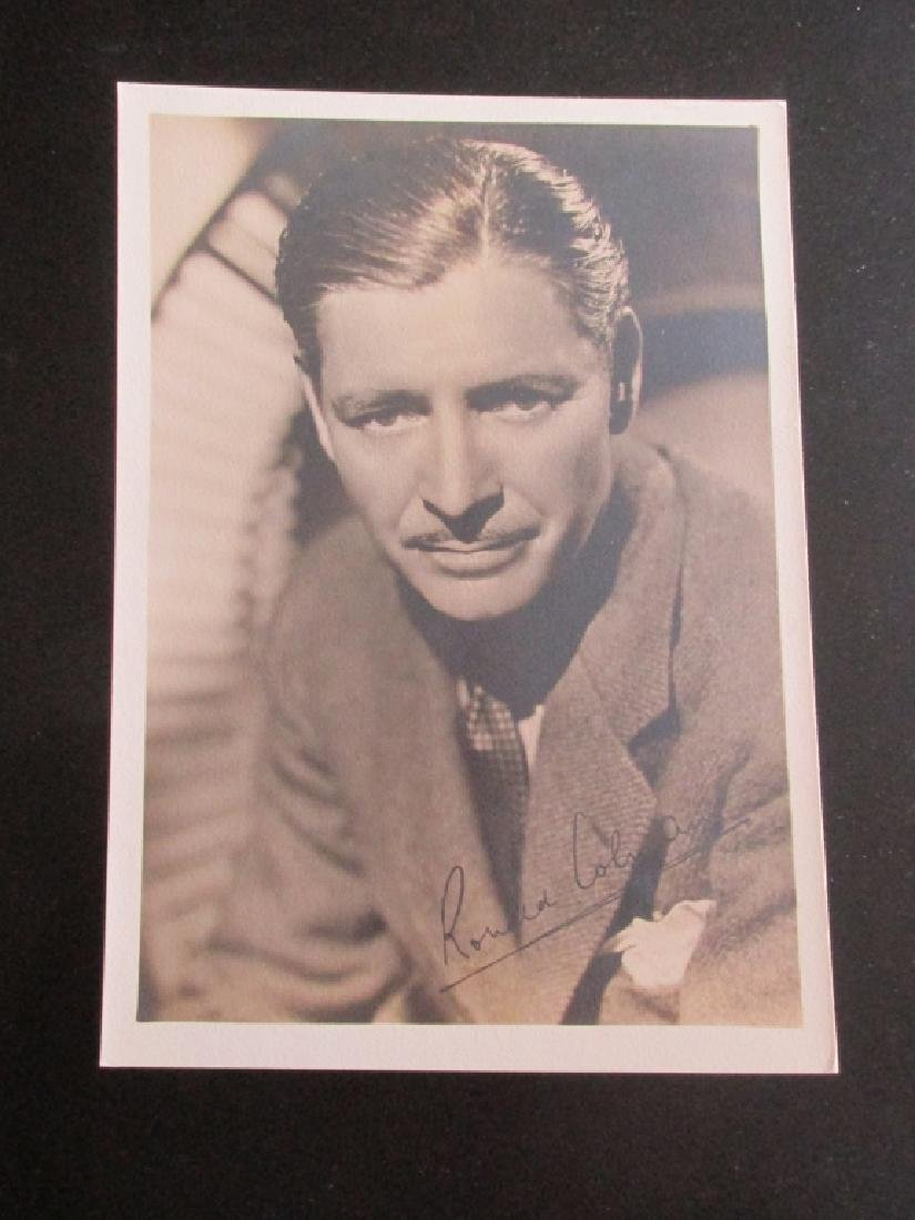 Ronald Colman Hollywood Photograph