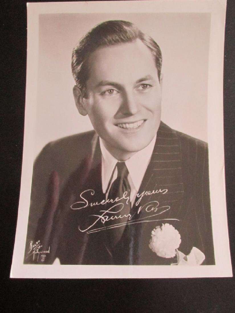 Lanny Ross 1930's Actor Photograph