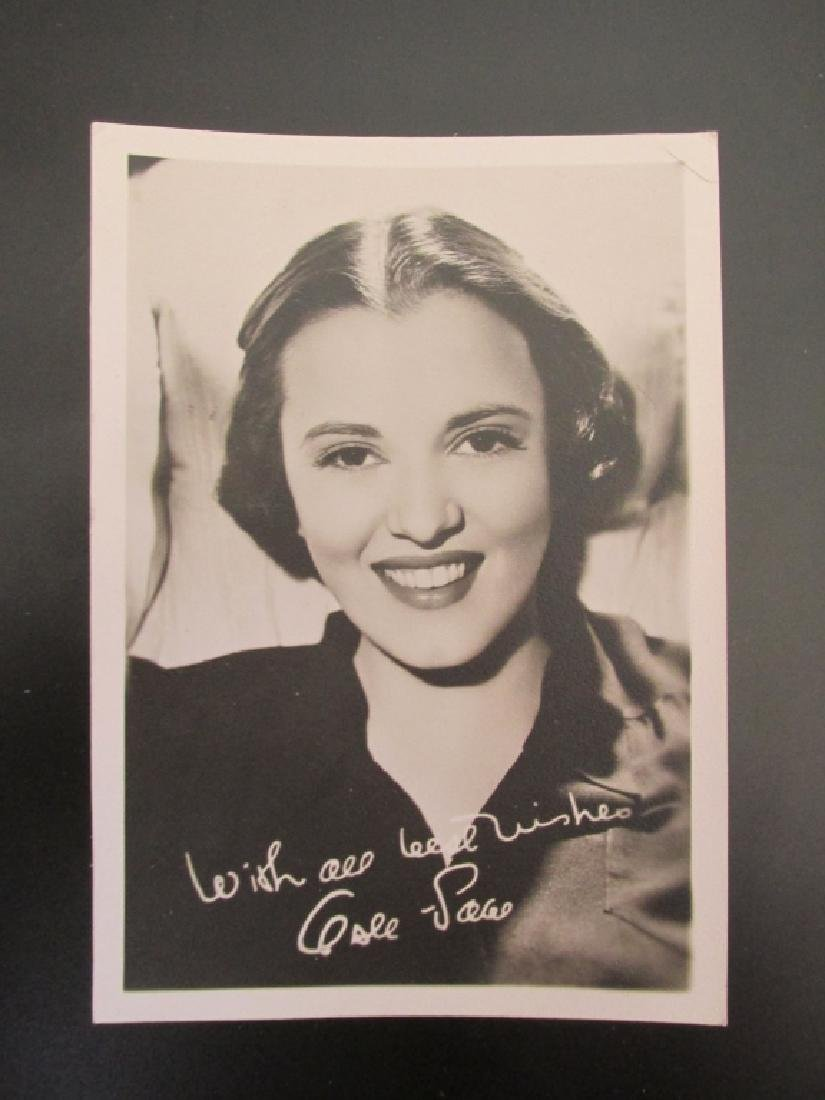 Gale Storm 1930's Actress Photograph