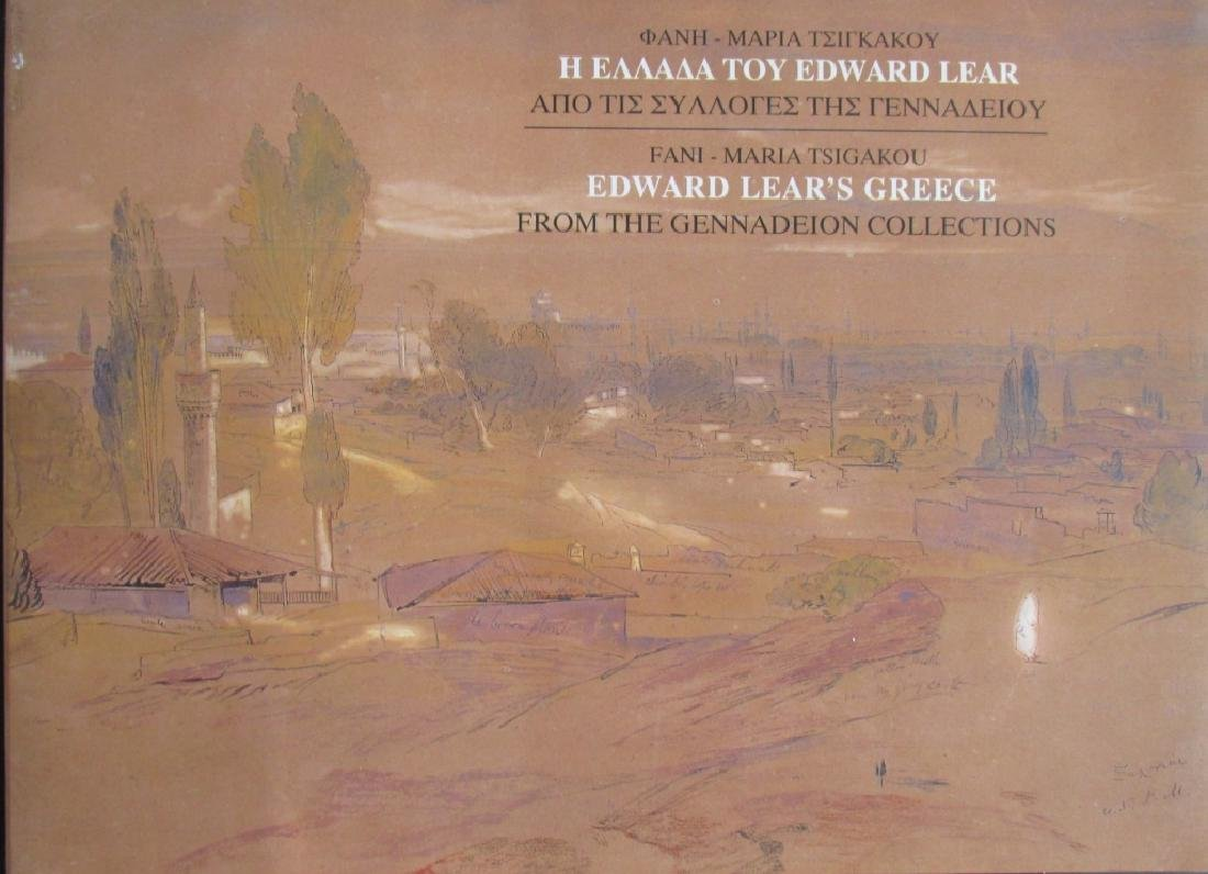 Edward Lear's Greece Fm The Gennadeion Collection