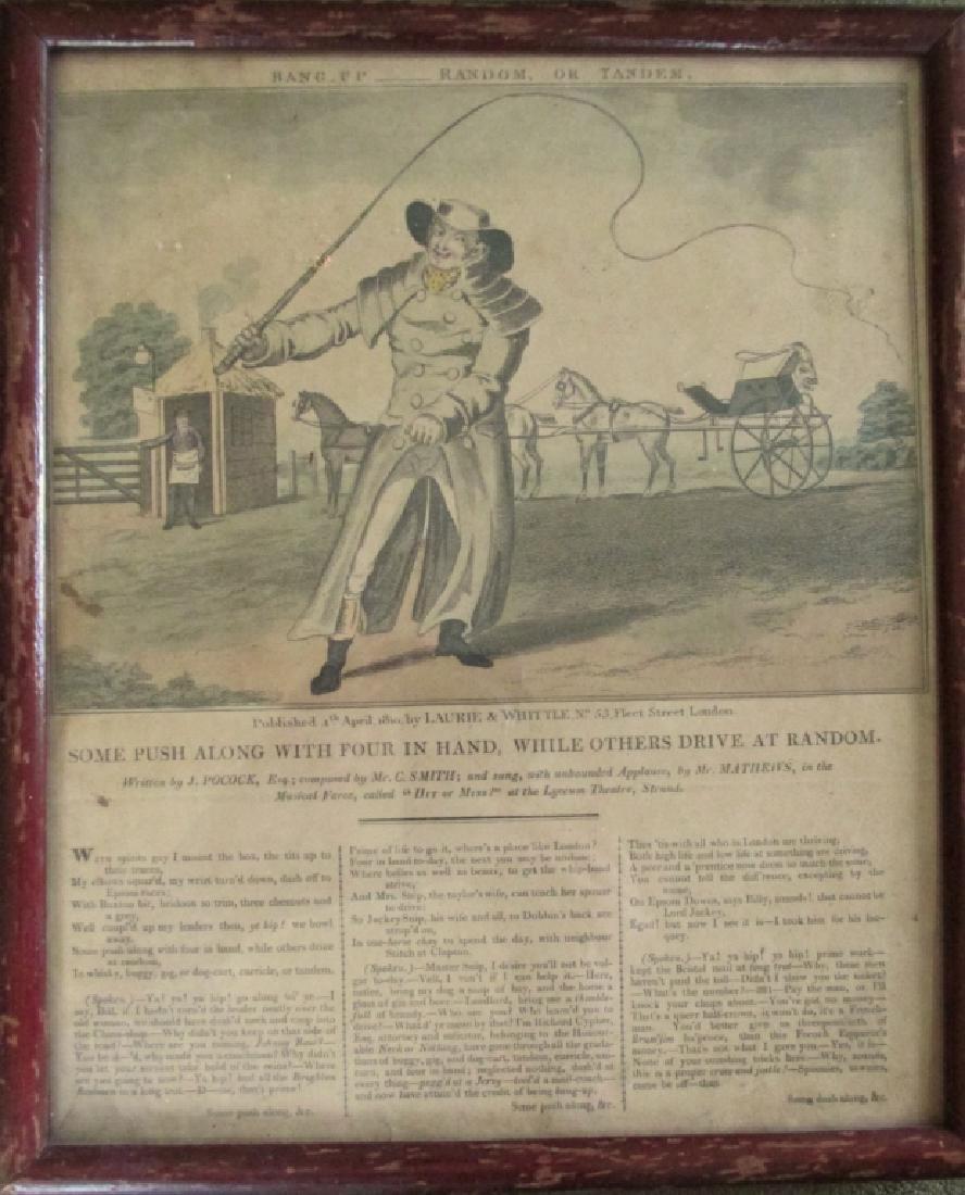 Cruikshank Engraving ~ 1810