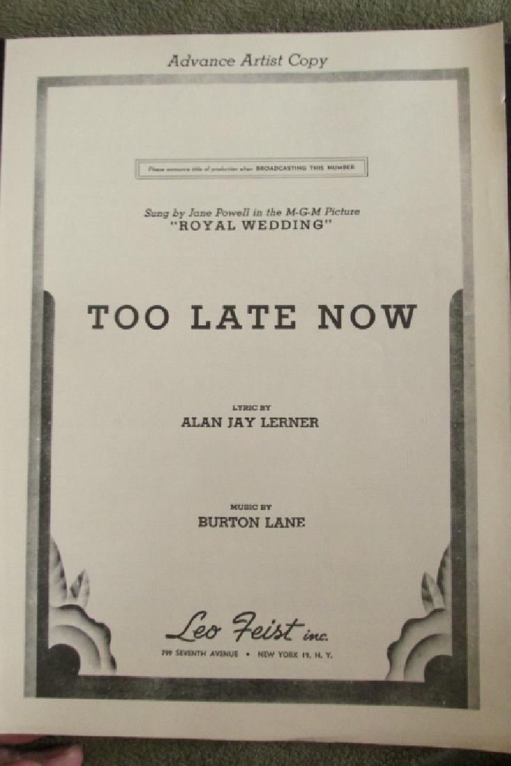 Alan Jay Lerner 1st Movie Musical