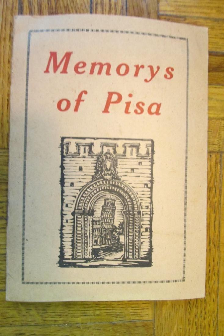 Memorys of  Pisa Italy