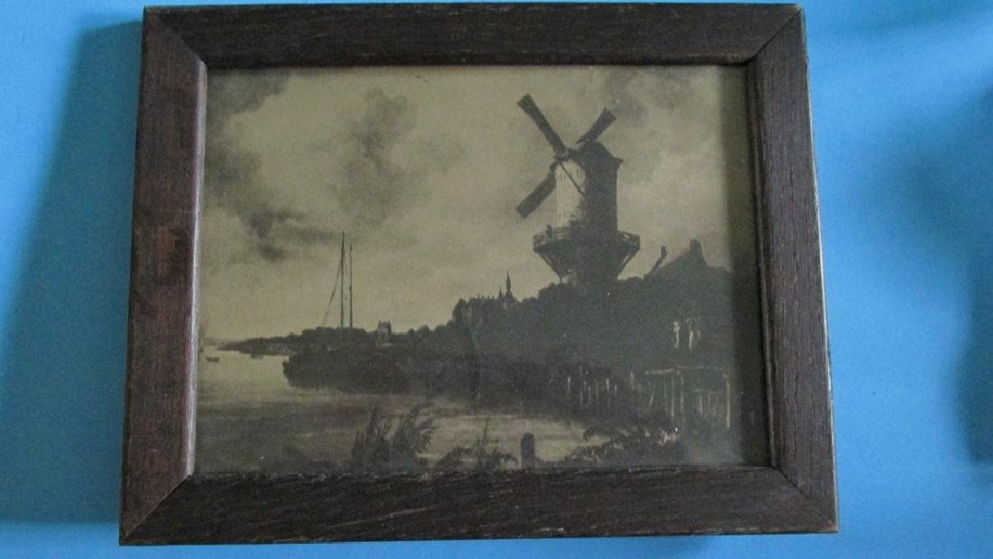 Dutch Windmill Print