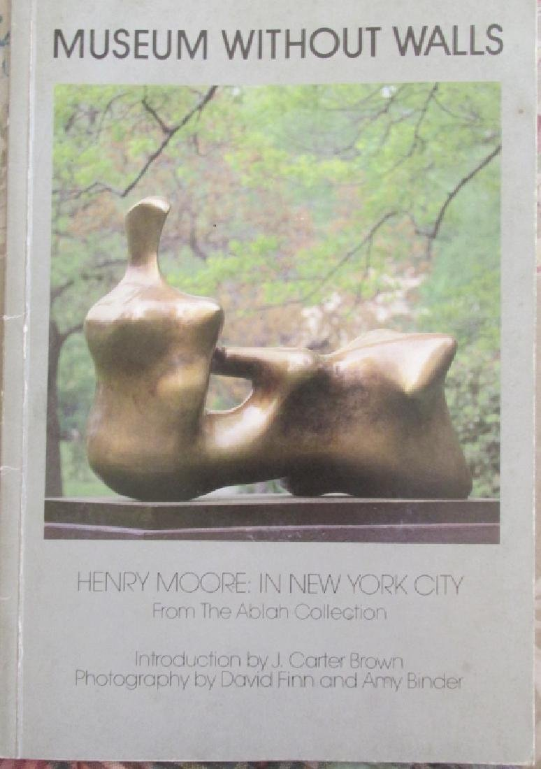 Henry Moore In New York City ~ Ablah Collection