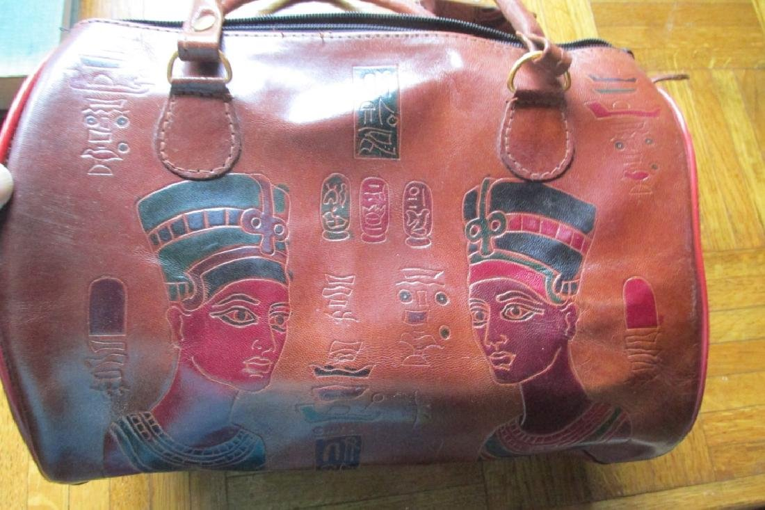 Emily Ann of Boca Raton Egyptian Leather Handbag