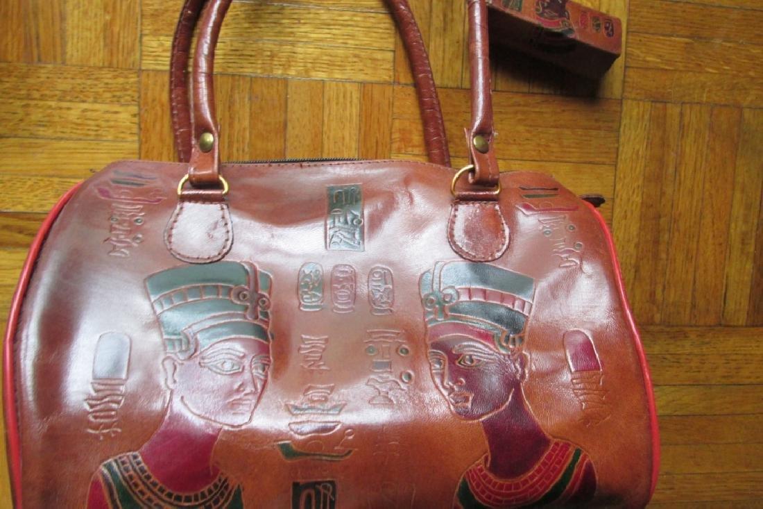 Emily Ann of Boca Raton Egyptian Leather Handbag - 3