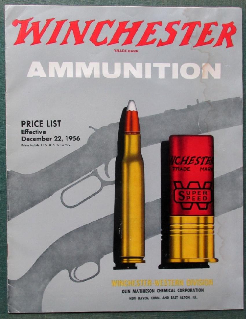 Winchester Ammunition Catalogs 1957