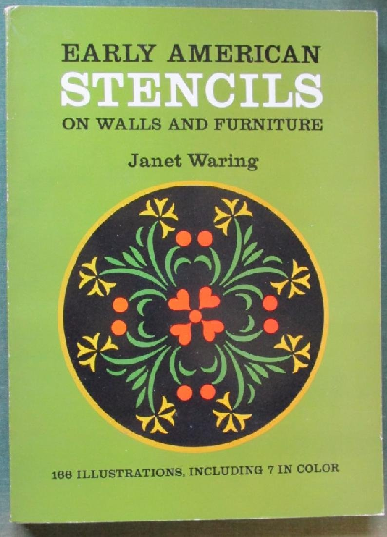 2 Books on Early American Design & Stencils
