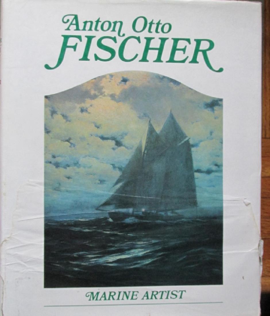 Anton Otto Fischer - Marine Artist Signed