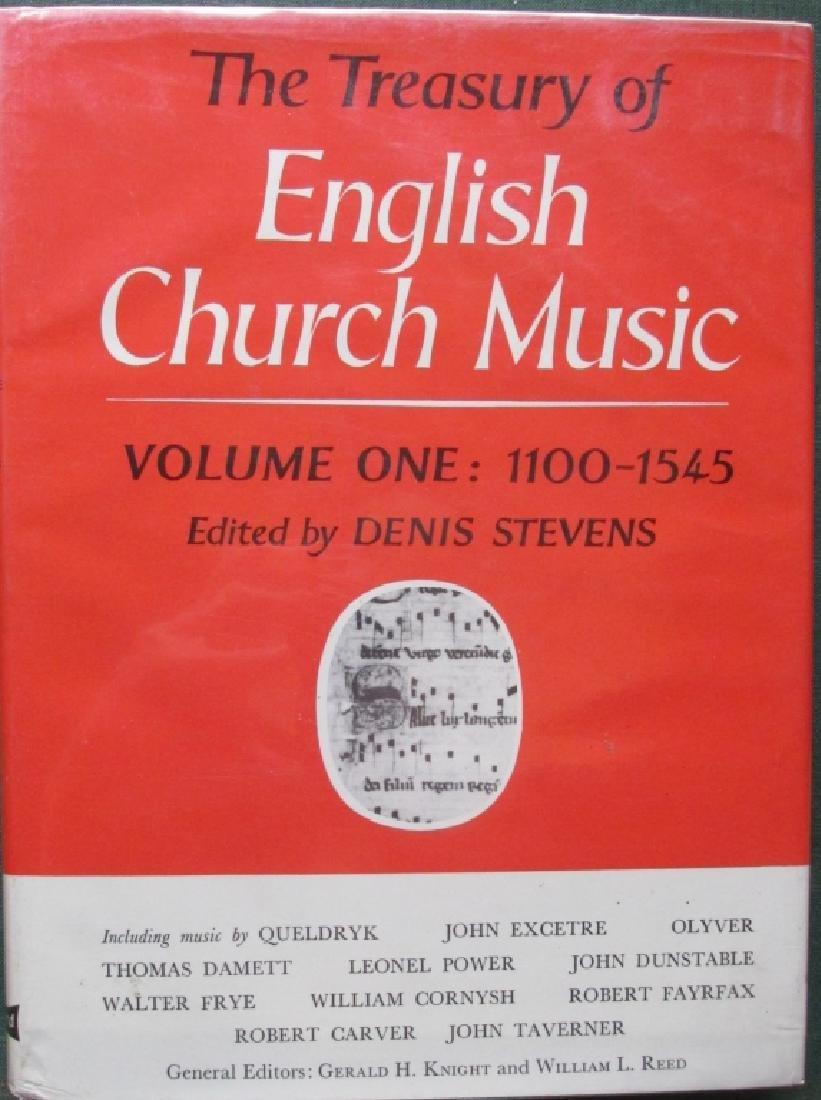 The Treasury of English Church Music 5 Vol Set
