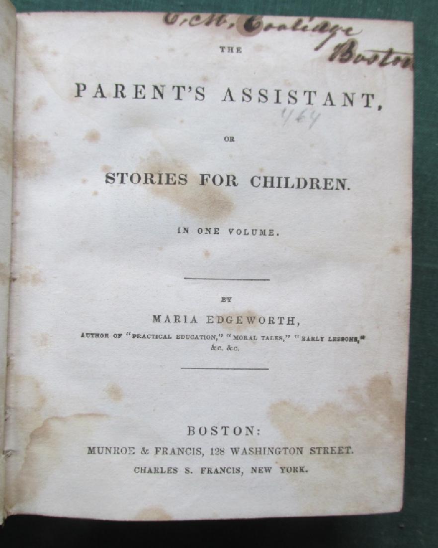 Parent's Assistant - Maria Edgeworth c1830