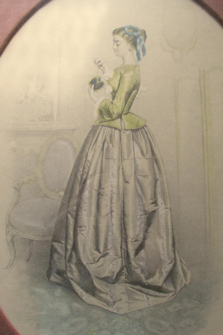 The Blue & Yellow Dress - Victorian