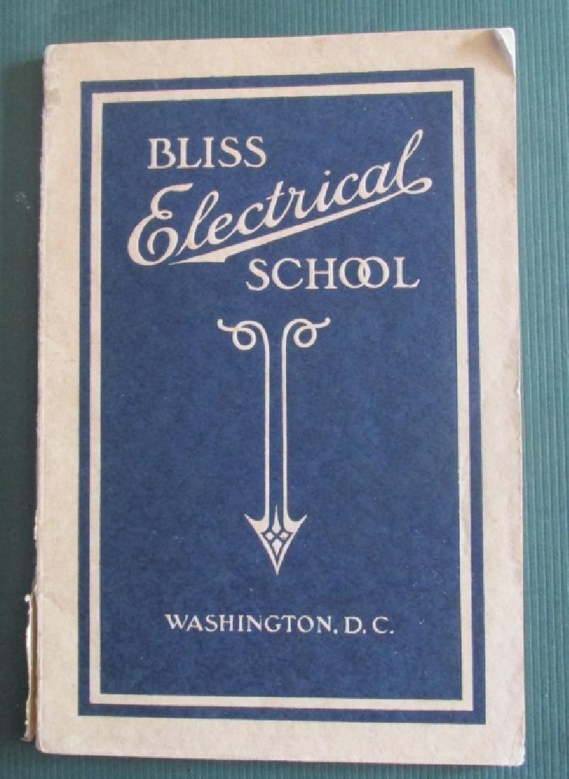 Bliss Electrical School 1919 Washington DC