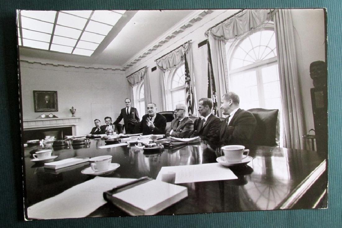 Francis Miller - President Lyndon Johnson