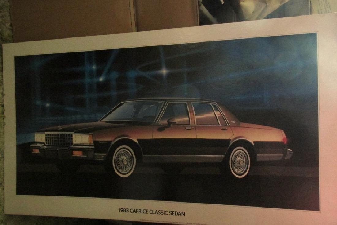 1983 Caprice Classic Sedan Advertising Sign