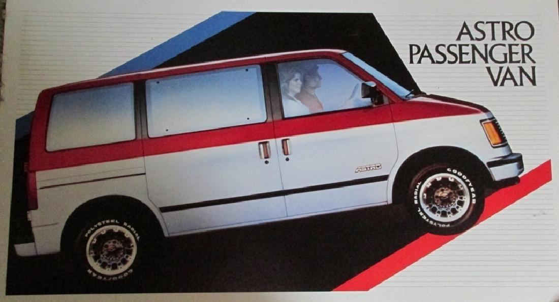 1983 Astro Passenger Van Advertising Sign