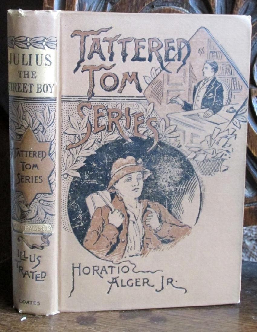 Tattered Tom -Julius - Horatio Alger