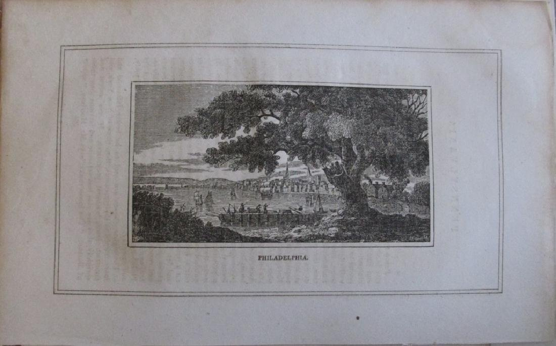 Early American Engraving of Philadelphia