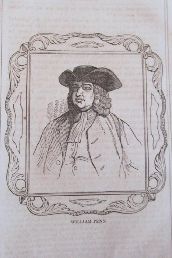 Early American Engraving of William Penn