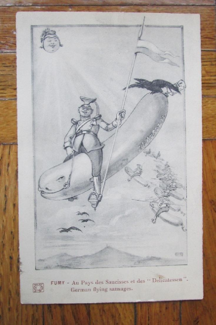 German Flying Sausages Airship