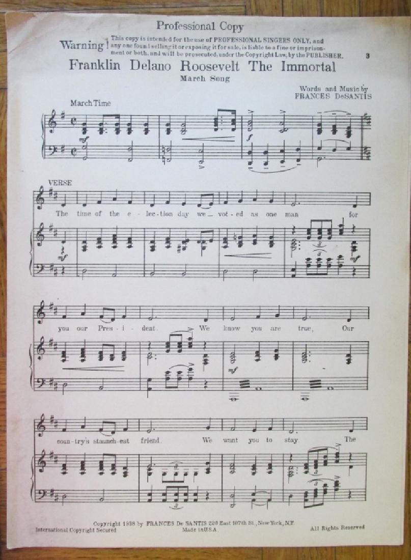 Franklin Delano Roosevelt Music