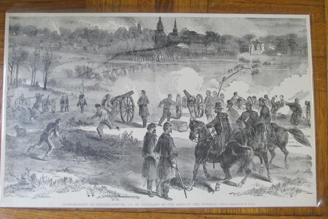 Bombardment of Fredericksburg, VA Civil War