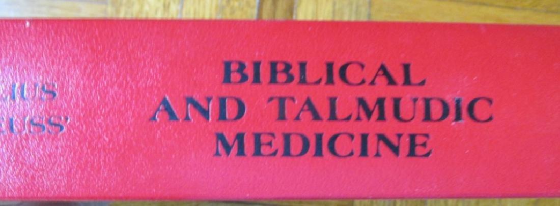 Biblical and Talmundic Medicine