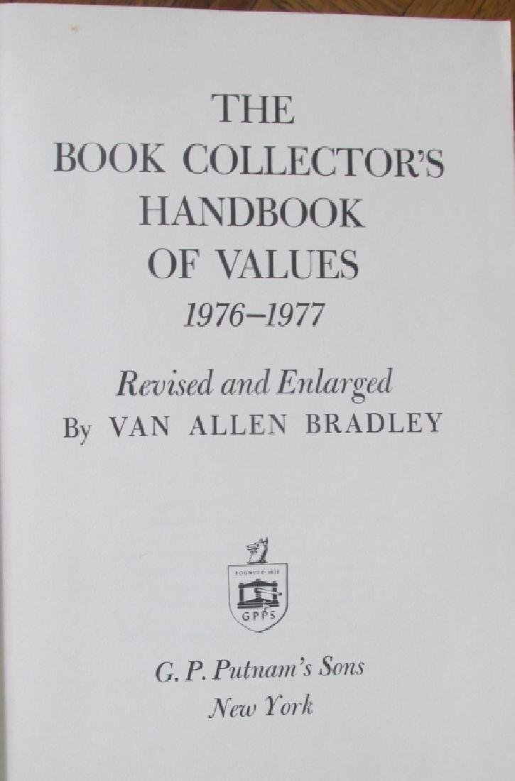 Book Collector's Handbook of Values - Signed