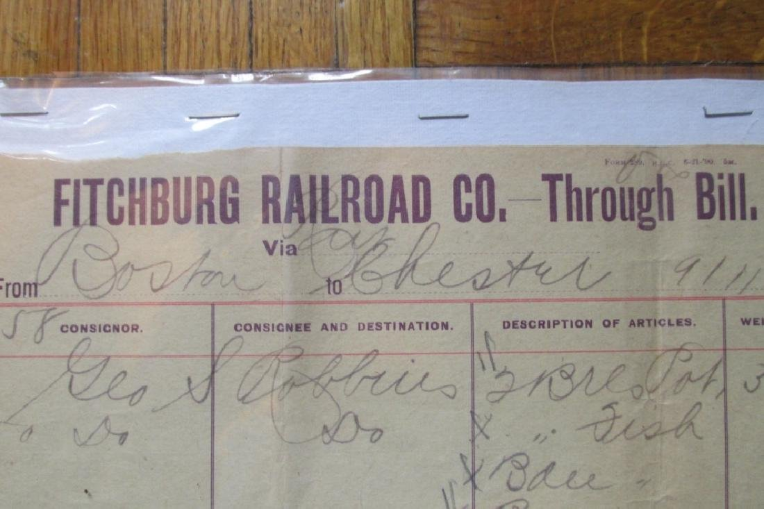 Fitchburg Railroad Company Massachusetts