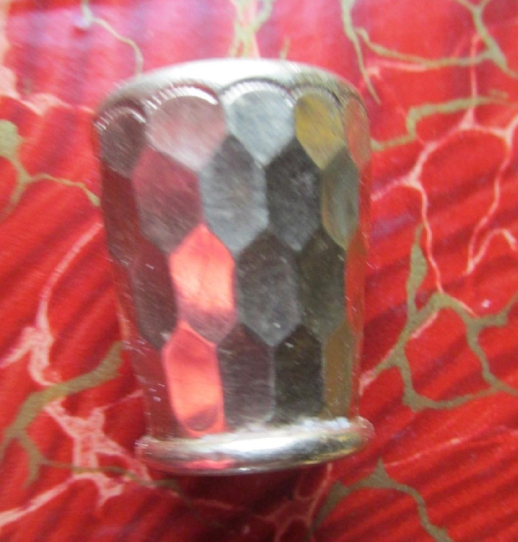 Victorian Gold Cane Tip