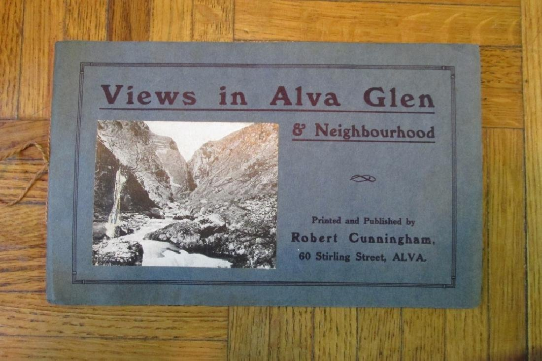 Views in Alva Glen Scotland