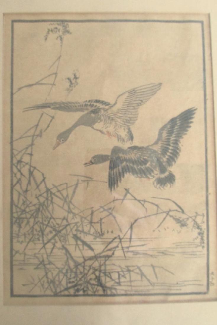 Geese ~ Japanese Woodblock