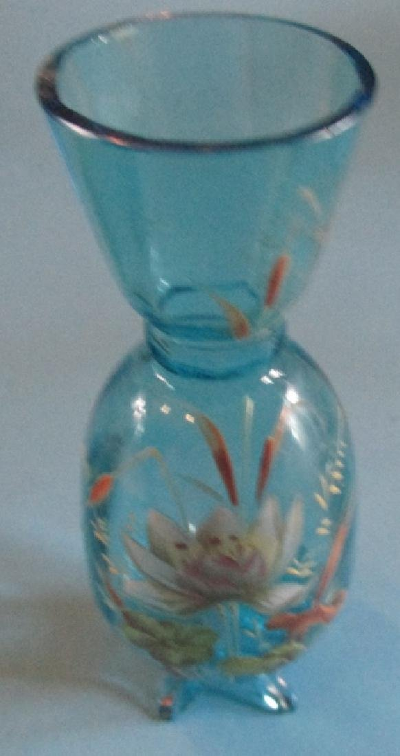 Victorian End of Day Art Glass Vase